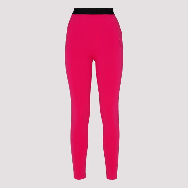 Fuchsia Logo Jogger Pants