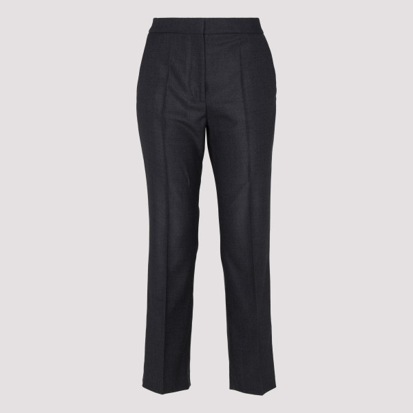 Gray wool pants