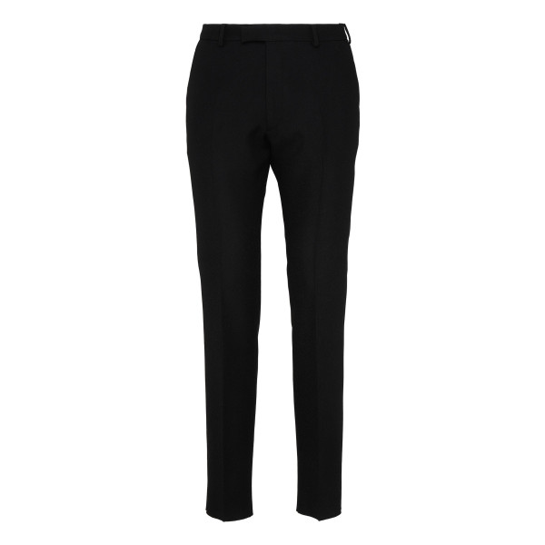Black tech fabric pants