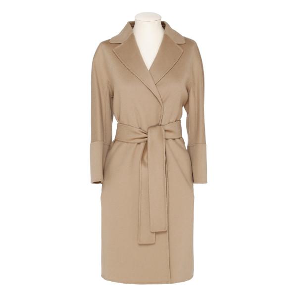 Beige wool Arona coat