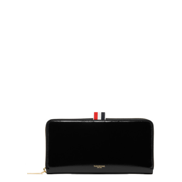 Black Long Zip-Around Wallet