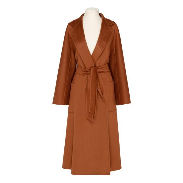 Brown cashmere Labbro coat