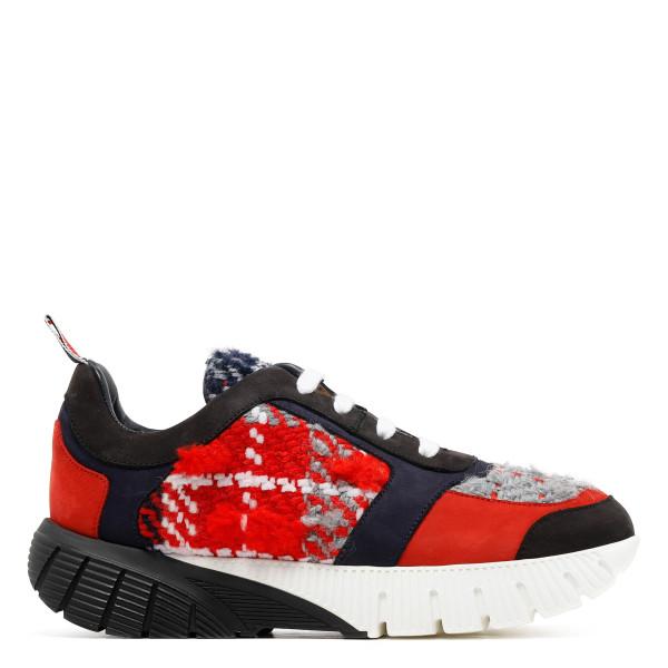 Tweed running sneakers