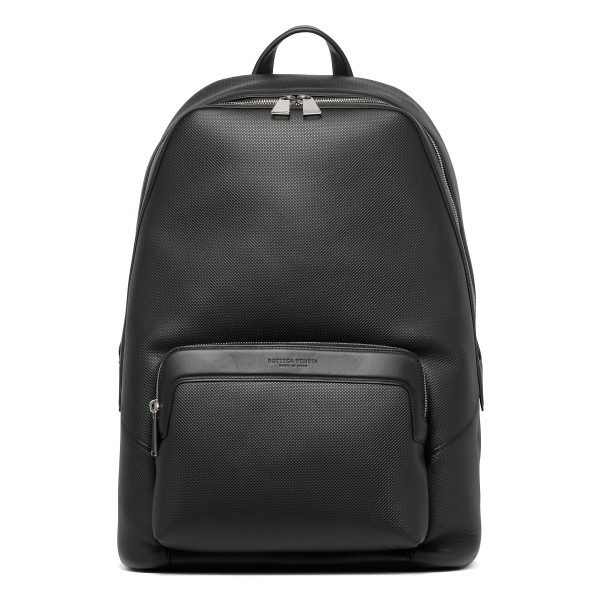Black Marcopolo calfskin backpack