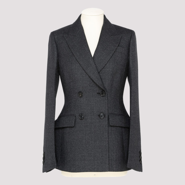 Prince of wales wool jacket