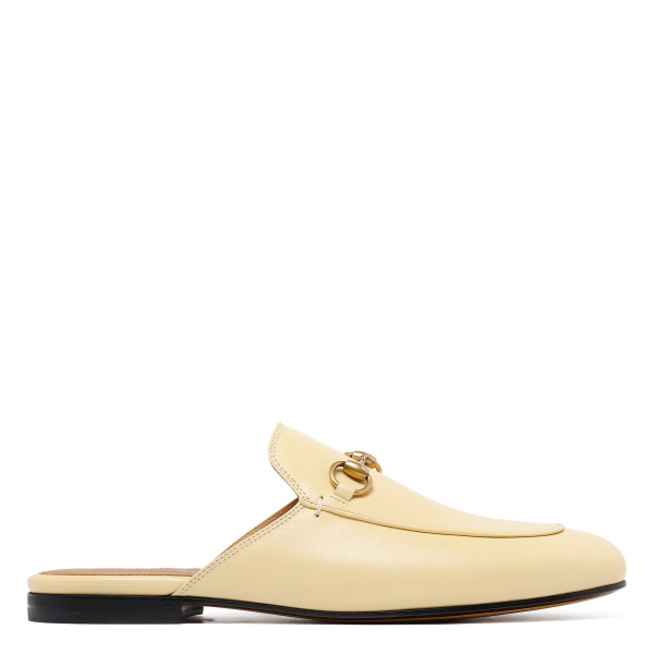 Beige Prince Town Slip On mules