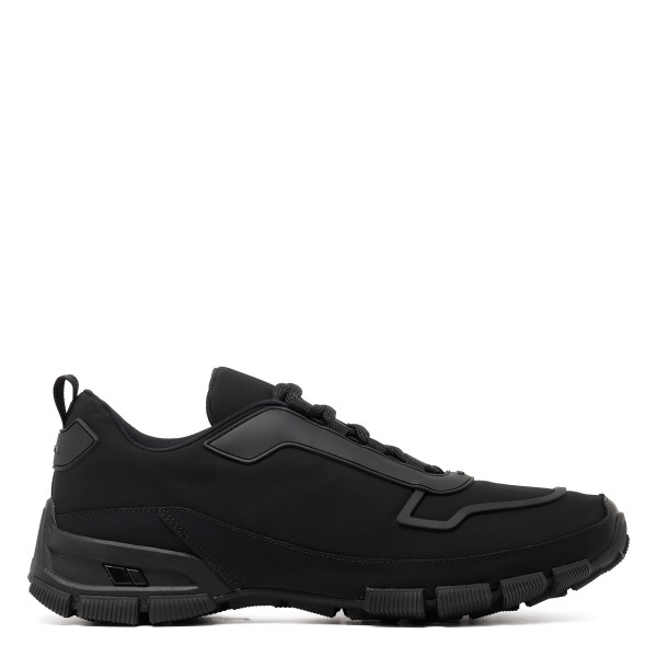 Black Crossection Hiker sneakers