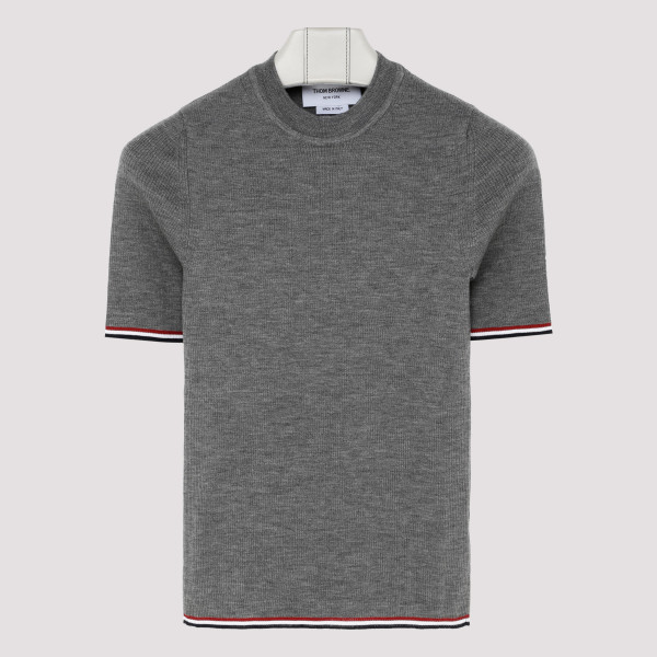 Gray wool T-shirt