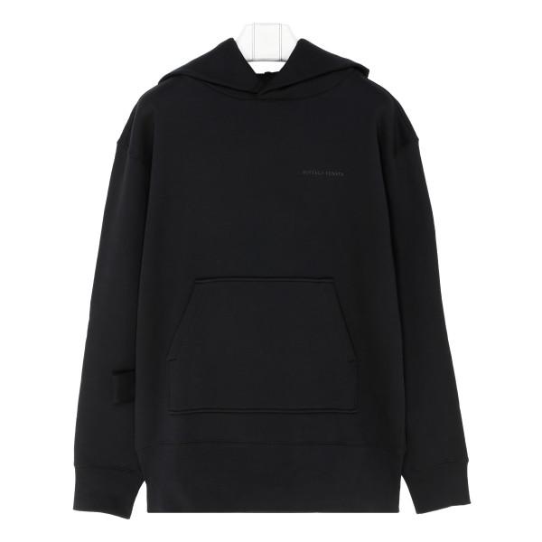 Black Terrycloth hoodie