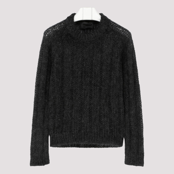 Black Mohair blend sweater