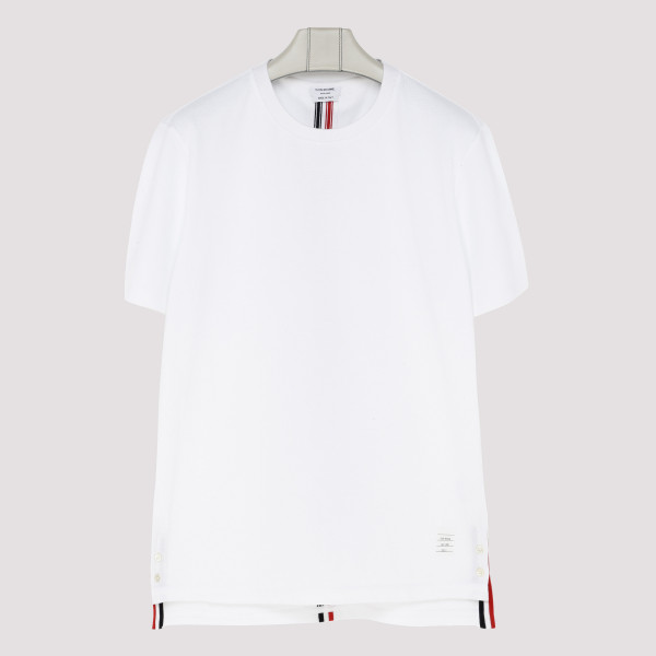 Center-back stripe T-shirt