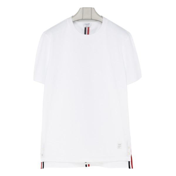Center-back stripe T-shirt
