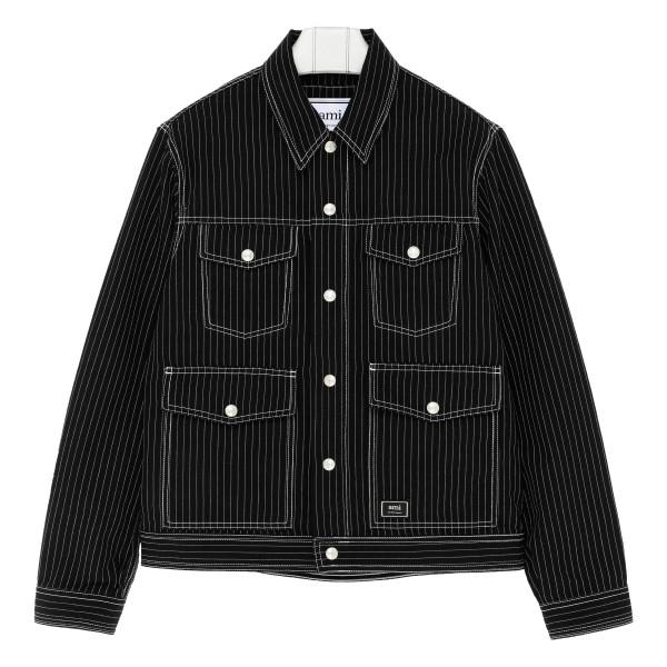 Woolen Pinstripe Jacket