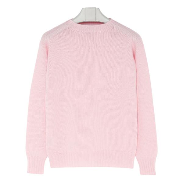 Pale pink cashmere jumper