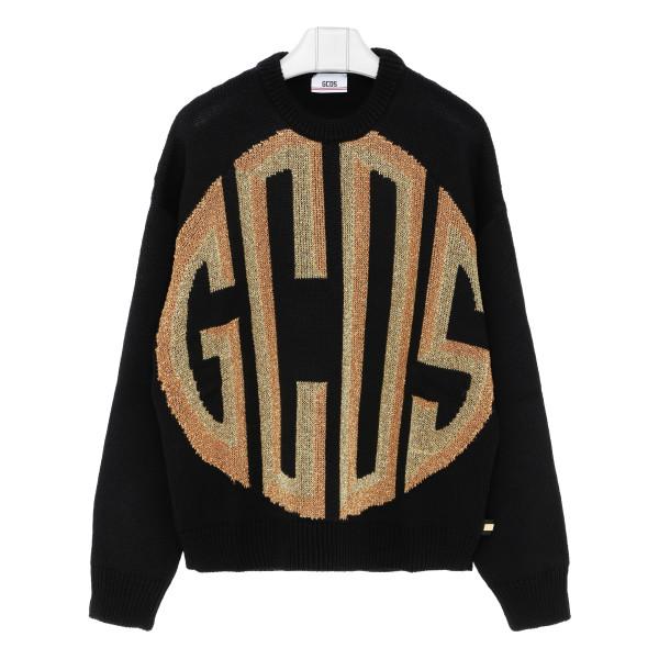 Black logo Palazzissimo sweater