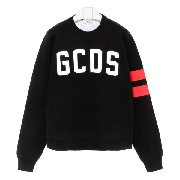 Logo black sweater