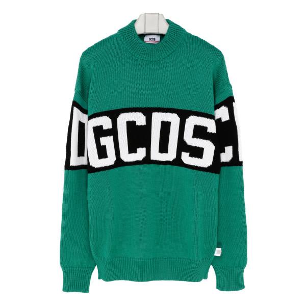 Logo green sweater