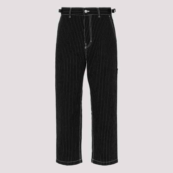 Pinstripe Straight Fit pants