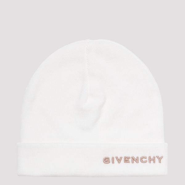 White logo beanie