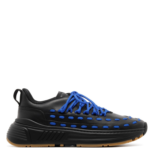 Speedster black and blue sneakers