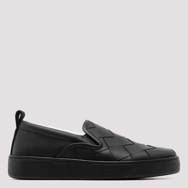 Black sneakers with maxi...