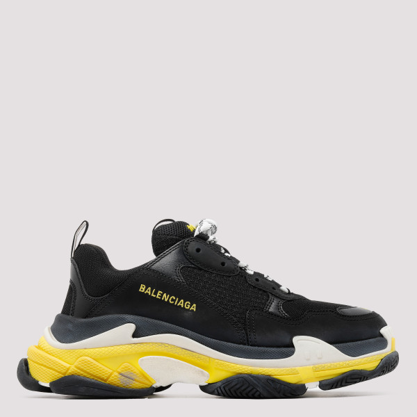 Triple S black and yellow...