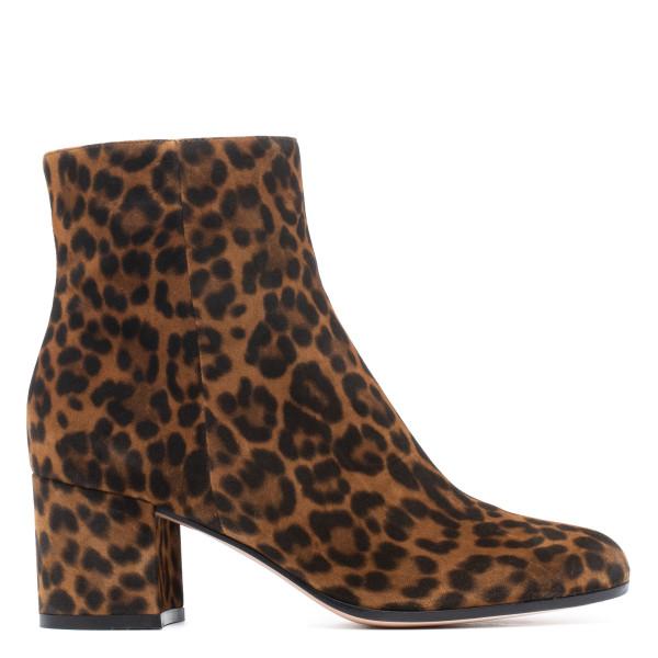 Margoux leopard booties