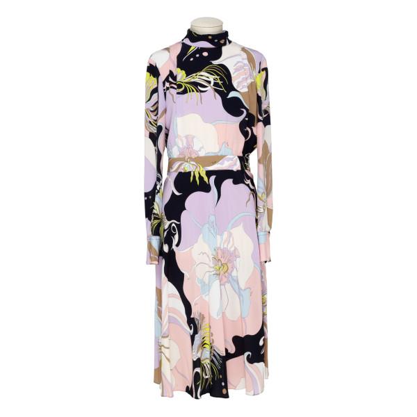 Mirabilis print dress