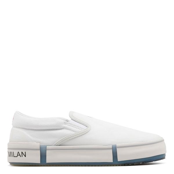 Cross slip on sneakers