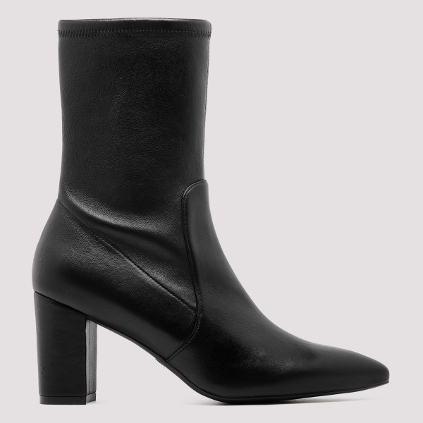 Landry black booties