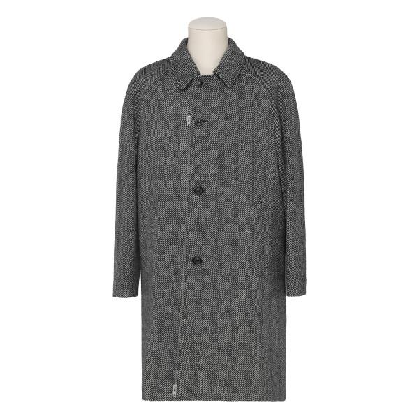 Gray Herringbone Coat
