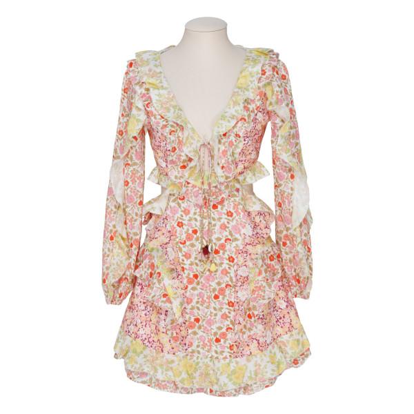 Goldie floral mini dress
