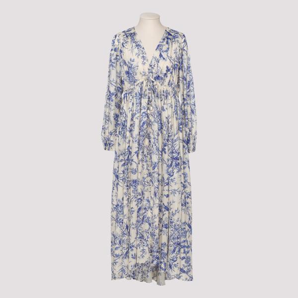 Verity gathered midi dress