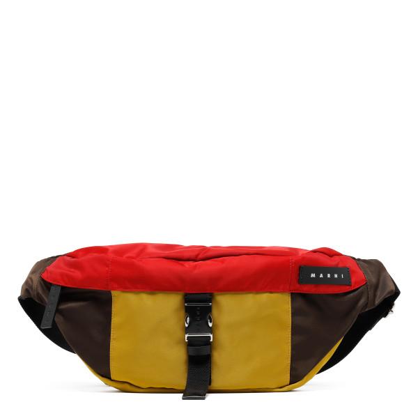 Multicolor nylon belt bag