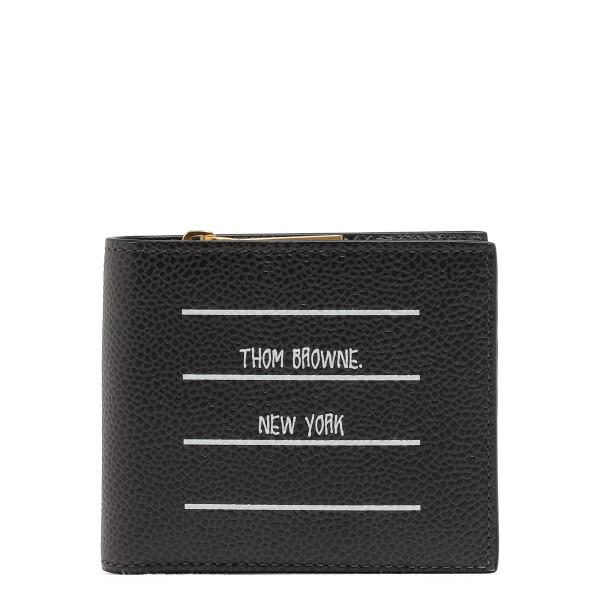 Paper Label Print Bifold Wallet