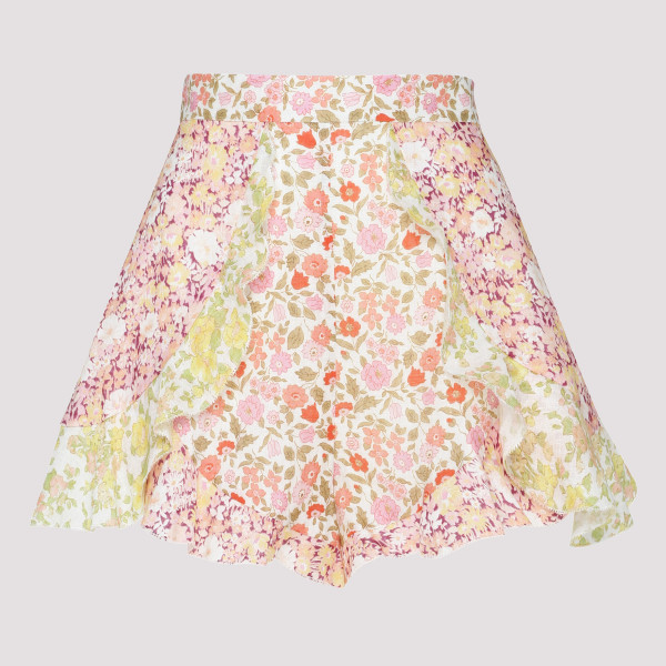 Goldie Spliced Frill Shorts