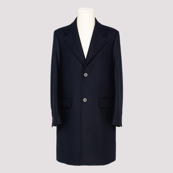 Blue single breasted coat