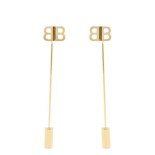 Golden BB earrings