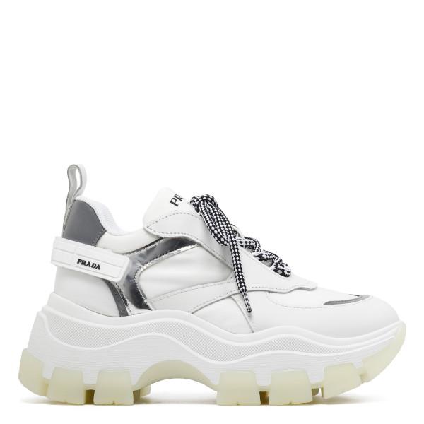 White Pegasus chunky sneakers