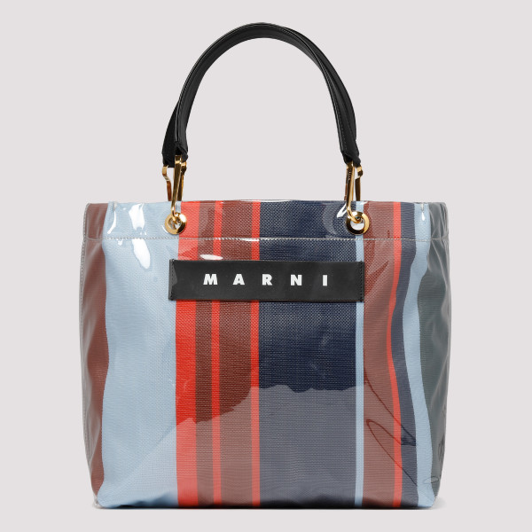 Glossy Grip striped bag