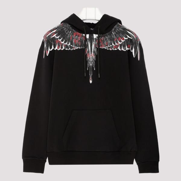 Black Flower wings sweatshirt