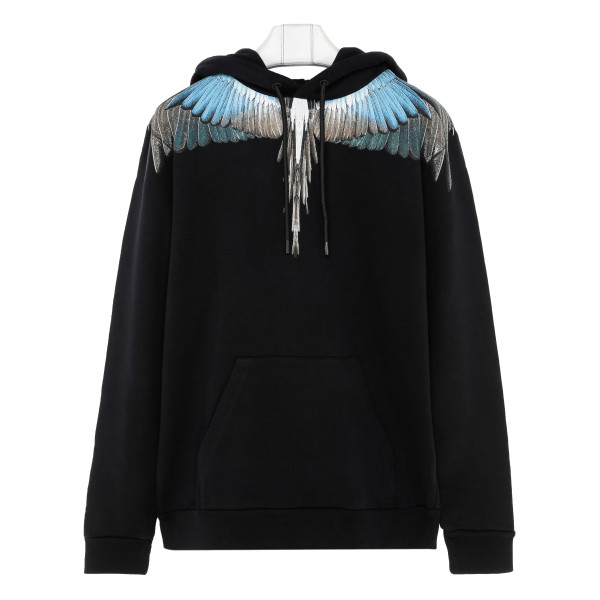 Turquoise wings sweatshirt