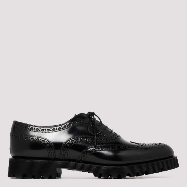 Black Carla Oxford Brogue...