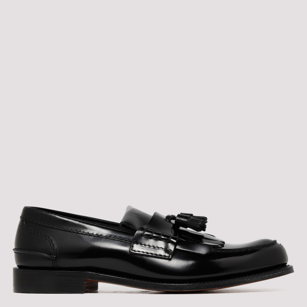 Black Tiverton loafers