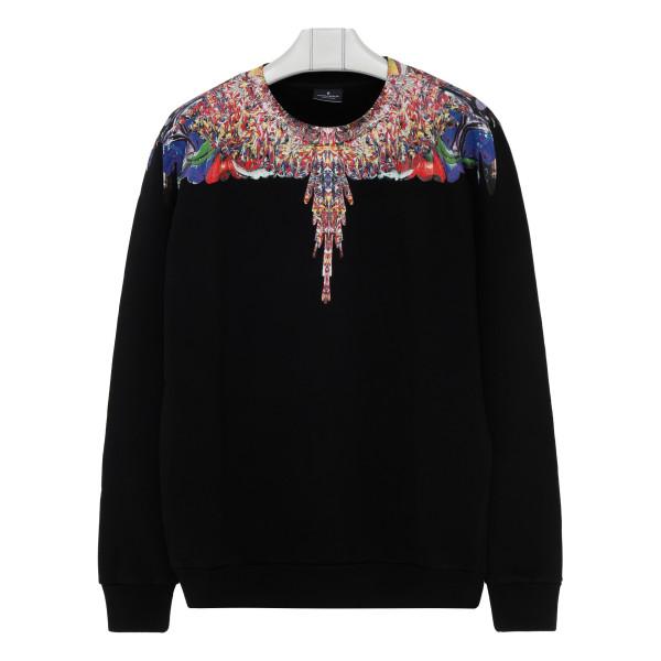 Black Multicolor Wings sweatshirt