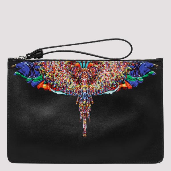 Black Multicolor Wings bag