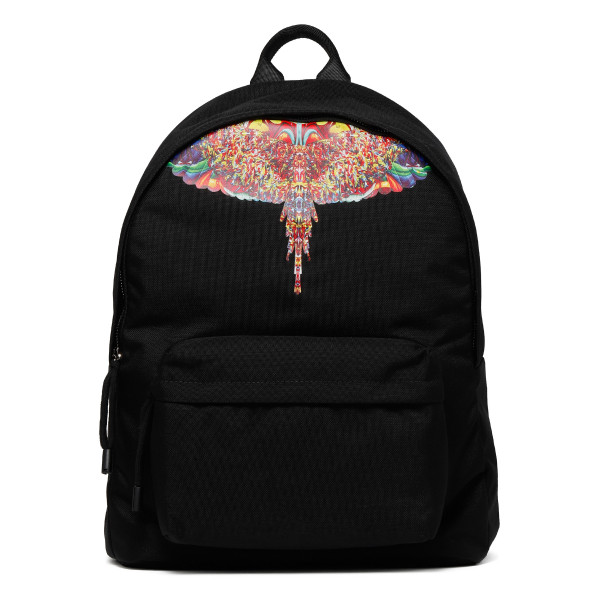 Multicolor wings backpack