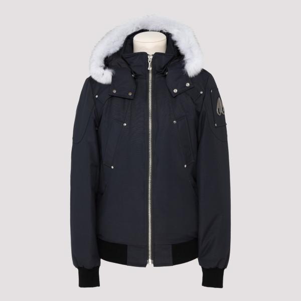 Ballistic navy bomber jacket