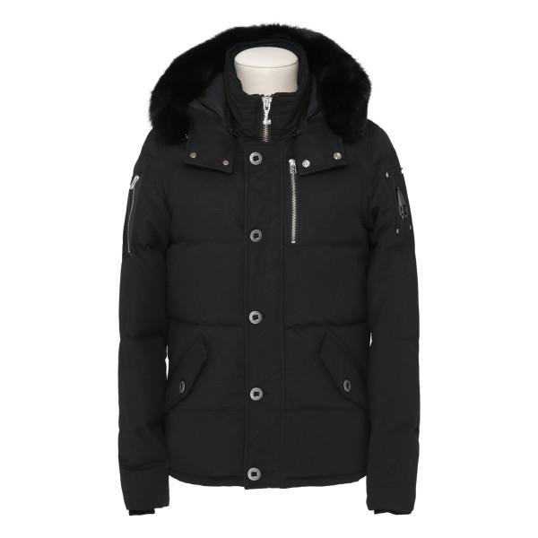 3Q black bomber jacket