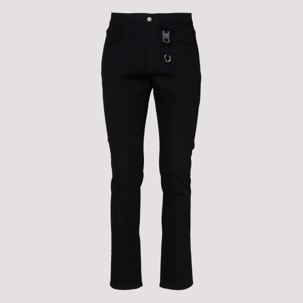 Black classic denim jeans